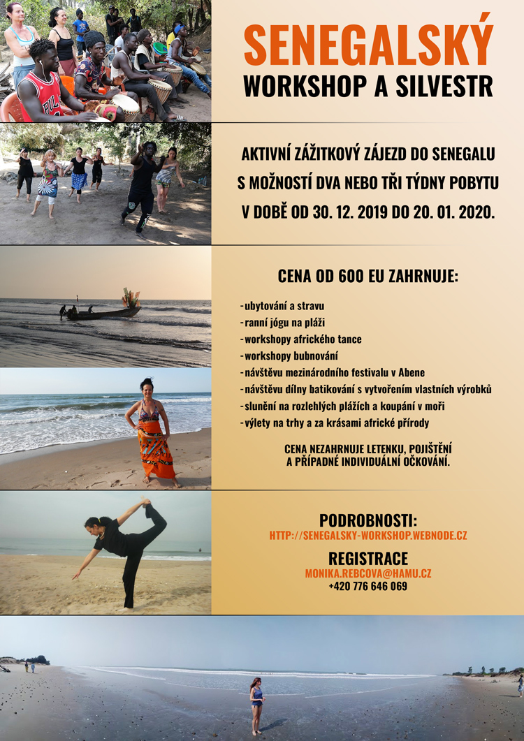 Senegalský Workshop a Silvestr 2019.12